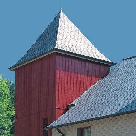 1000 images about bardages silverwood on pinterest - Couleur rouge sang de boeuf ...