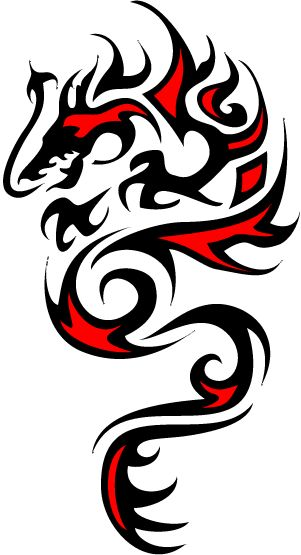 Celtic Dragon - symbolizes my ethnic heritage plus my Chinese Zodiac sign.