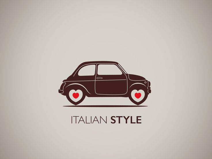 Piad'Amore - Fiat 500 Poster