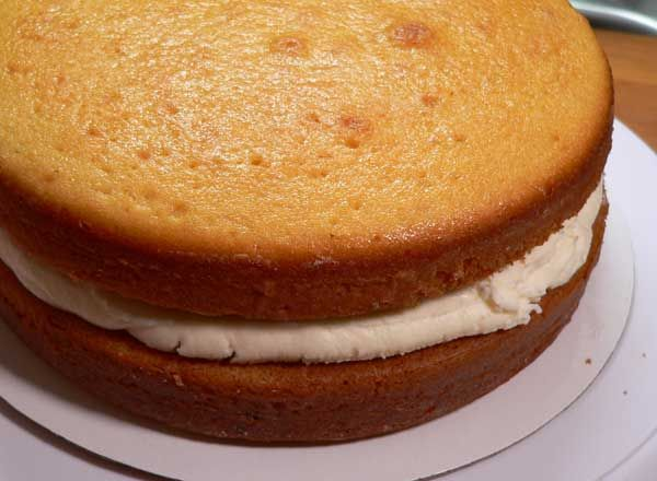 Golden Butter Cake Layers Recipe Layer Cake Recipes Baking