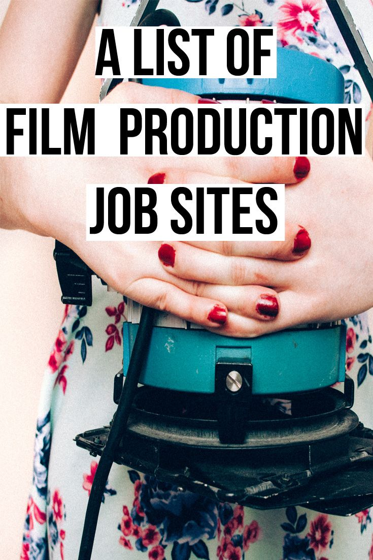 Jobs in the Entertainment Industry, A list of up to date job sites (last  updated Spring 2017) and advice on how to apply for film production jobs  online. Download the updated list below.  My experience applying to film jobs  It was 2008 when I first started to look for work in the fi