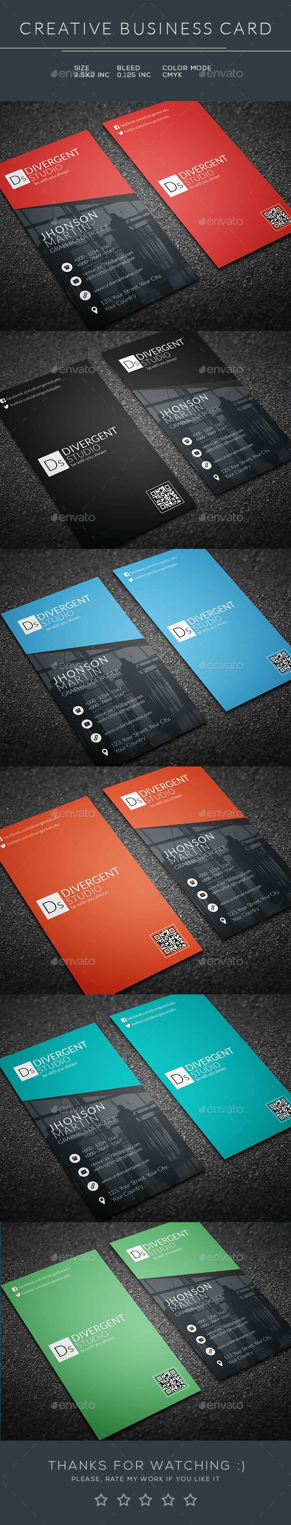 218 best business card images on pinterest business cards business card template psd download here httpgraphicriver reheart Gallery