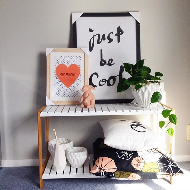 A taste of things to come. Our products tagged. Cushions stylists own #july2015 #onlinecataloguelaunch #framedprints #georoomdiffuser #setofthreegeovases #peachrabbit #instorenow
