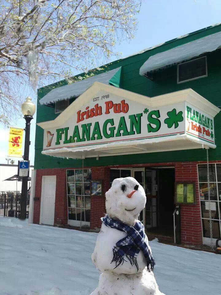 Flanagan's Irish Pub in Downtown Dunedin