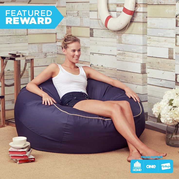 Coast Bach Basics Bean Bag #flybuysnz #1280points #OFHNZ