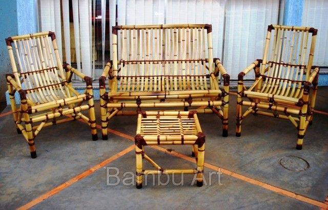 Jogo de cadeira de bambu sem almofadas Frete não Incluso (ID#21480), preço R$400 , comprar em Umuarama parana — Negociol.com