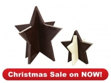 Bakeware : 3D Silicone Star Mould  Makes gorgeous gifts… just add cellophane and ribbon.  $42.00  It's so easy to make these adorable stars… and they can be used all year round to add a tasty centrepiece to the table for special occasions. Another great gift for kids and adults alike… just add cellophane and ribbon! Makes one large and two small stars.  Christmas Sale on NOW – 1 November to 31 December 2012