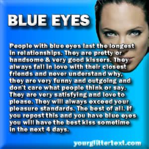 Guys With Blue Eye Quotes