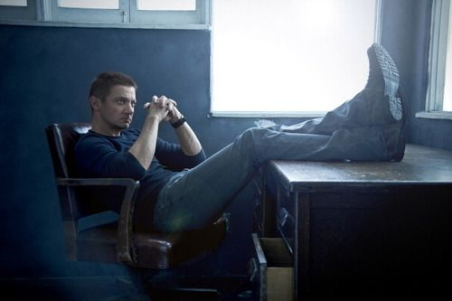 Mason Hicks in reflective mood... Or maybe just planning to crash his ex-wife's wedding! #JeremyRenner