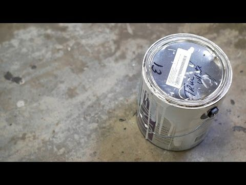 Hacks: Dispose of Paint with Kitty Litter - YouTube