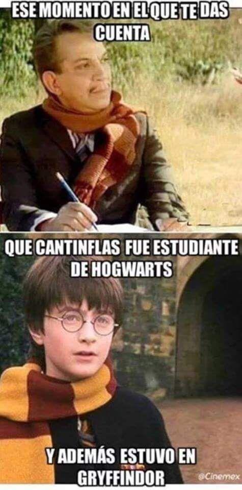 #meme #Cantinflas #HarryPotter #Hogwarts