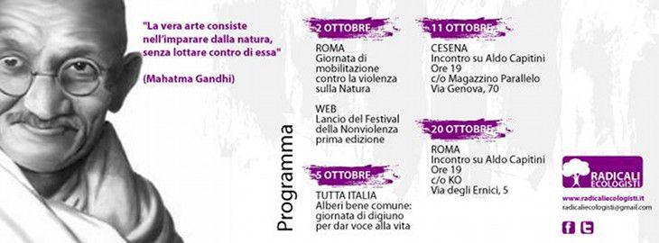1° Festival della Nonviolenza