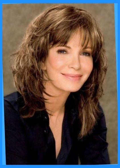 med length haircuts with bangs the 25 best medium shaggy haircuts ideas on 3126 | 4e9aee5ee8cad14495b8783fc89b5d6f hairstyles with bangs medium length hairstyles