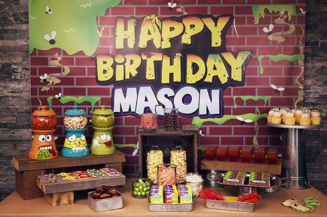 "Little Big Company | The Blog: ""Trash Pack"" Inspired Birthday by Sensationally Sweet Events"
