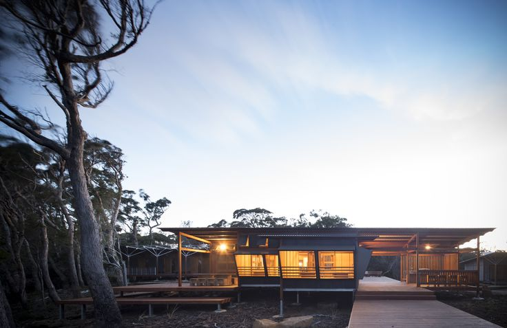 Lonely Planet describes Tasmania's extraordinary Three Capes Track as one of the world's hottest new experiences. For visitors, one of the most memorable parts of this compelling walking experience is staying overnight in the three huts located along the track, conceived by JAWSARCHITECTS.