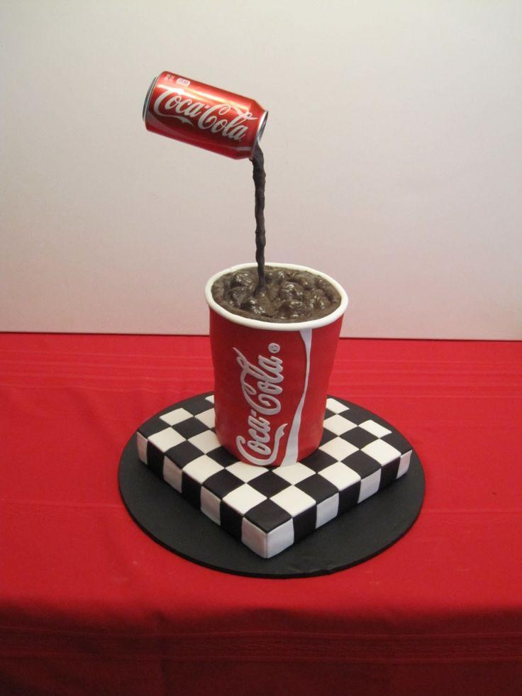Shania's Coke Birthday Cake