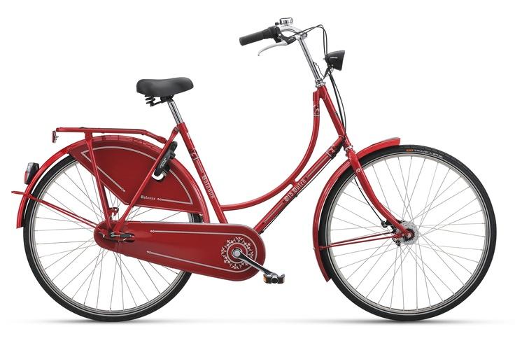 Batavus Testrad:  Women Old Dutch 3-Gang rot  günstig kaufen bei fahrrad.de