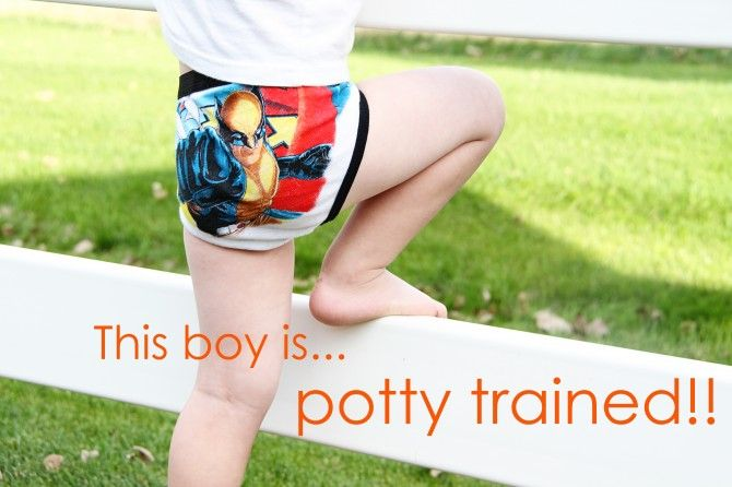 Great potty-training idea!!! Can't believe I didn't know this for my first 2 kids!