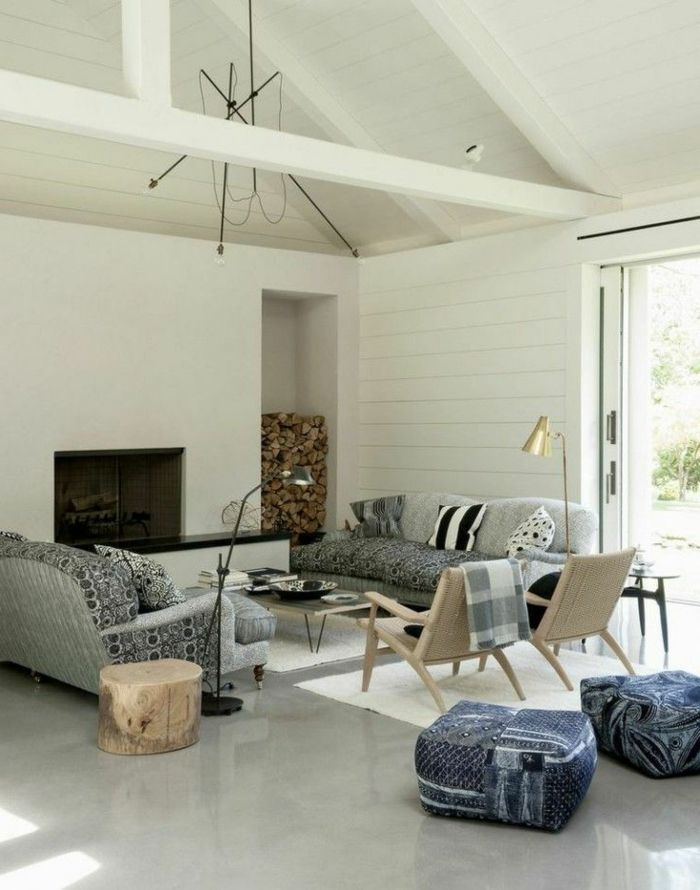 latest dcouvrir le sol en bton cir dans beaucoup de photos. Black Bedroom Furniture Sets. Home Design Ideas