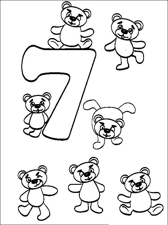 Counting Using A Teddy Bear