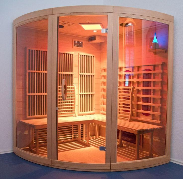 Infrarotkabine mit Montage Infrarot Sauna Vollspektrum Wärmekabine Solevernebler in Heimwerker, Sauna & Schwimmbecken, Infrarot-Wärmekabinen   eBay!