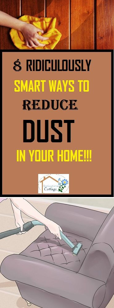 Dust can cause lots of health problems. Get rid of dust in fast and smart ways with these ridiculously smart tricks. #dusting #cleaning #home cleaningtips #cleaninghacks #cleaningtricks #clean #house