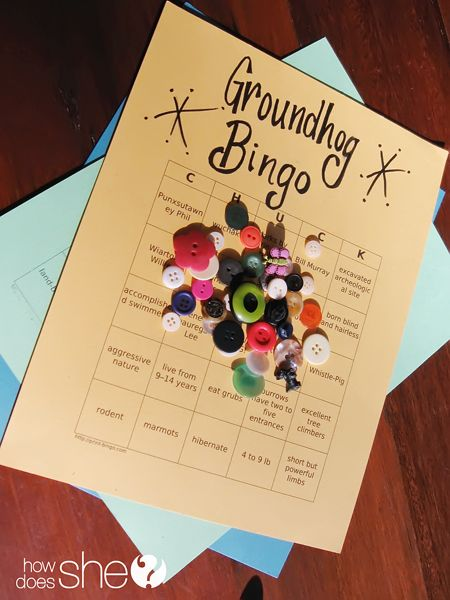 Give it up for the Groundhog! | How Does She...  Groundhog Day Party Games!