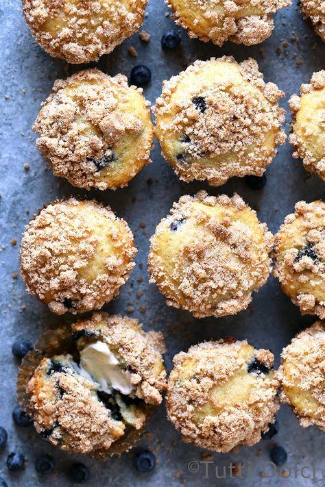 Blueberry Crumb Muffins | blueberry muffins | blueberry muffin recipe
