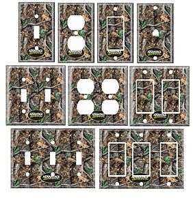 Mossy Oak Camo | Single Standerd Size Lightswitch Cover Mossy Oak Camo | eBay
