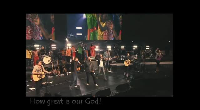 How Great is Our God at Passion 2012 - subtitled - Music Videos