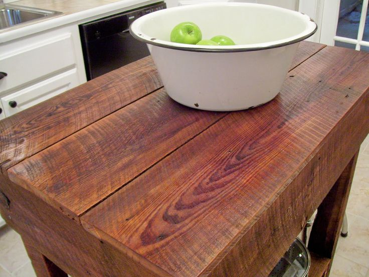 our vintage home love  How To Build A Rustic Kitchen Table Island. 25  best Rustic kitchen tables ideas on Pinterest   Diy dinning