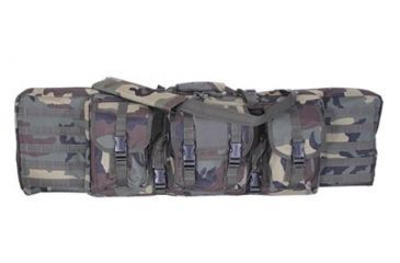 Voodoo Tactical 46inch Padded Weapons Case, Woodland Camo - 15-761405000