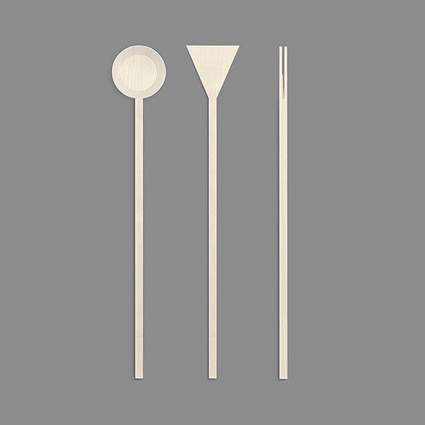 RIBRAND   Minimalist kitchen utensils on Industrial Design Served