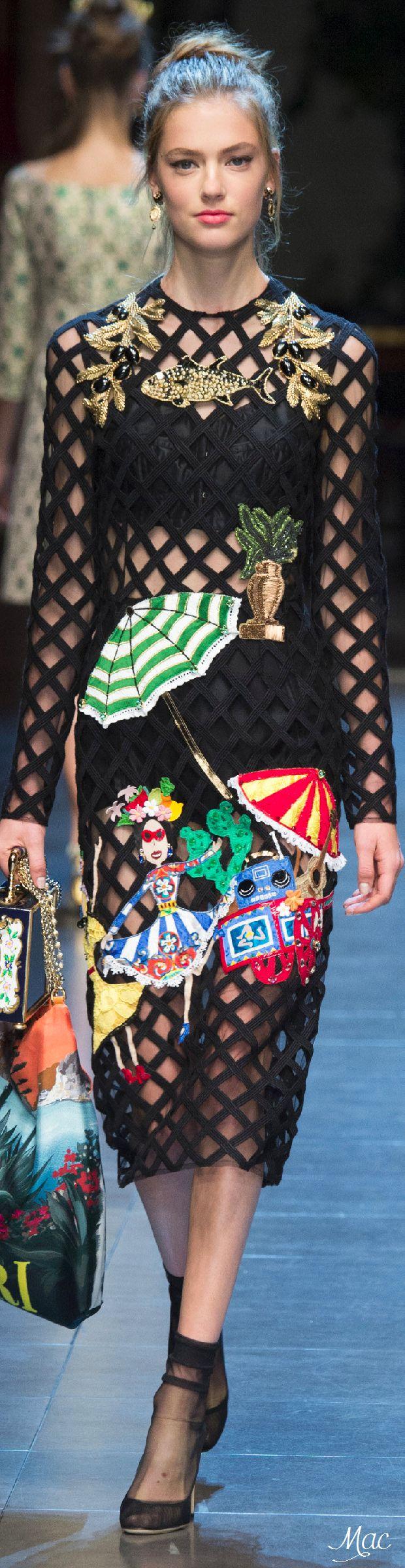 2016 dolce & Gabbana