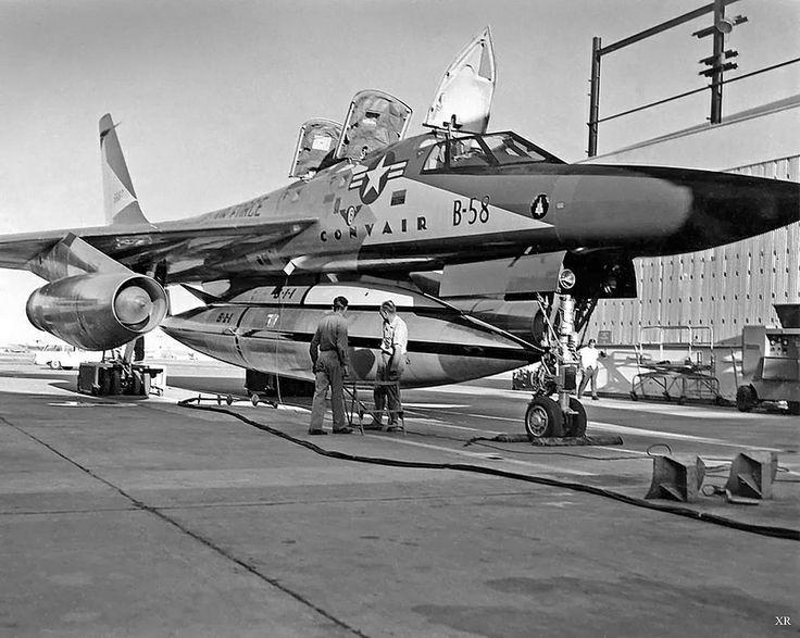 1960 ... B-58 'Hustler'