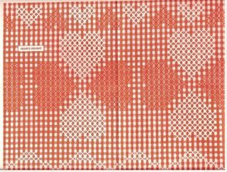 VINTAGE GINGHAM STITCH/CHICKEN SCRATCH PATTERNS (27) --- Lace 'n' Ribbon Roses