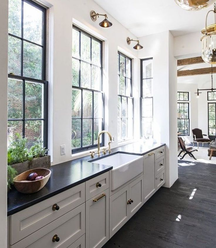 Beautiful Kitchen Inspiration From Pinterest Jane At Home In 2020 Kitchen Layout New Kitchen Cabinets Kitchen Inspirations