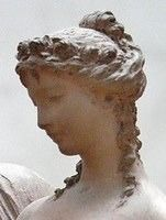 """When married, roman women would wear their hair in a hairstyle called """"tutulus""""."""