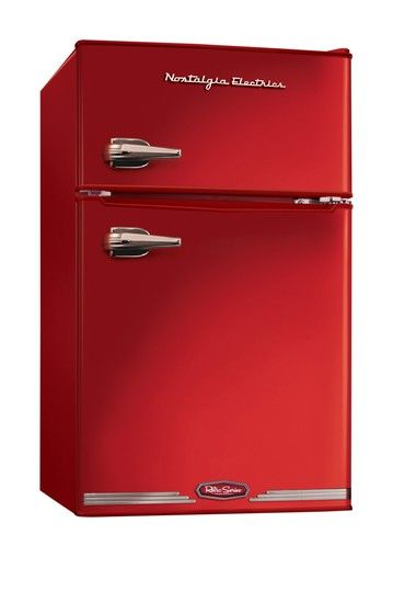 Nostalgia Electrics Retro Series 31-Cubic Foot Red Compact Refrigerator Freezer on HauteLook