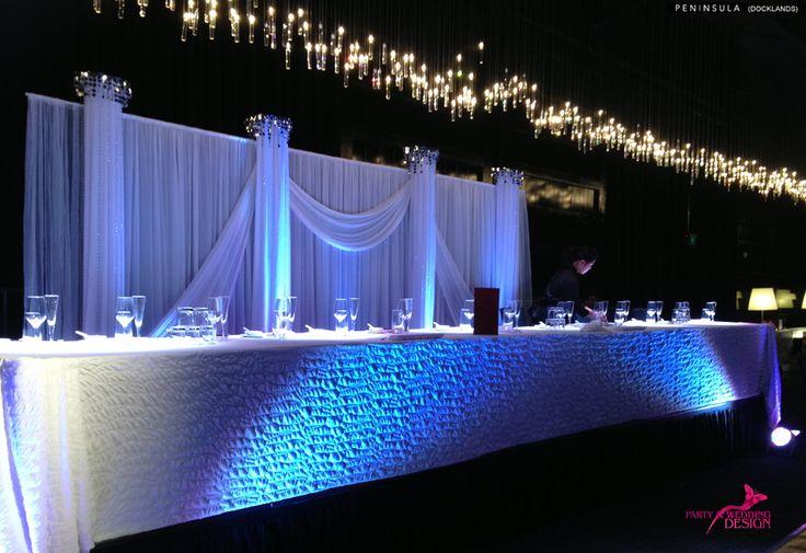 Party & Wedding Design @ Peninsula Docklands