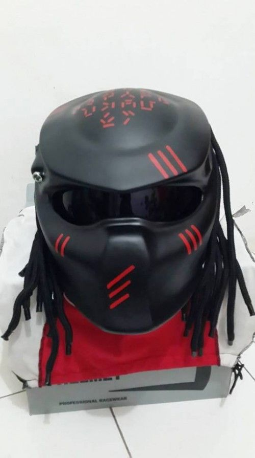 Alien Predator Helmet DOT Approved | adi075777 -  on ArtFire