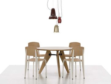 Jean Prouve Gueridon Table Vitra modern-dining-tables