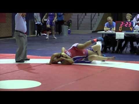 2015 Stu Hart Duals: 70 kg Livleen Sidhu (BC) vs. Katerina Lobsinger (USA)