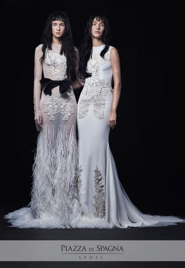 Sofisticati, particolari, sensuali. #VeraWang crea abiti inconfondibili, che emozionano e conquistano le spose di tutto il mondo. Guardali tutti su http://www.piazzadispagnasposi.it/collezioni/sposa/vera-wang-sposa-2017/