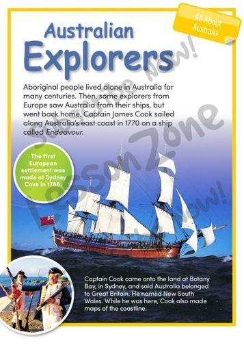 All About Australia Australian Explorers (member resource)