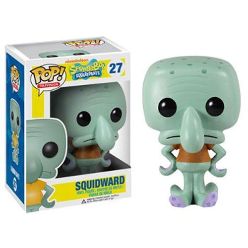 Squidward Pop Vinyl Figure by Funko 3.75 In. Spongebob