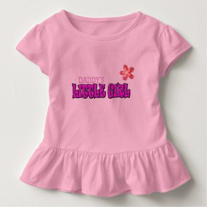 daddys little girl toddler t-shirt - kids kid child gift idea diy personalize design
