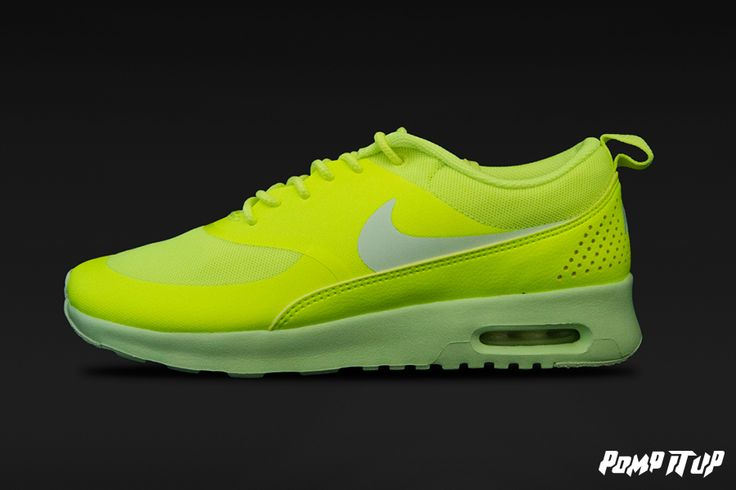 Nike Air Max Thea (Volt/LT Liquid Lime) For Women Sizes: from 36 to 42 EUR Price: CHF 150.- #Nike #AirMax #AirMaxThea #NikeAirMax #NikeAirMaxThea #Sneakers #SneakersAddict #PompItUp #PompItUpShop #PompItUpCommunity #Switzerland