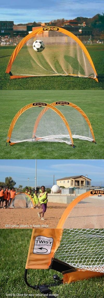 Other Soccer 2914: Pugg Portable Pop-Up Soccer Goals -> BUY IT NOW ONLY: $129.95 on eBay!
