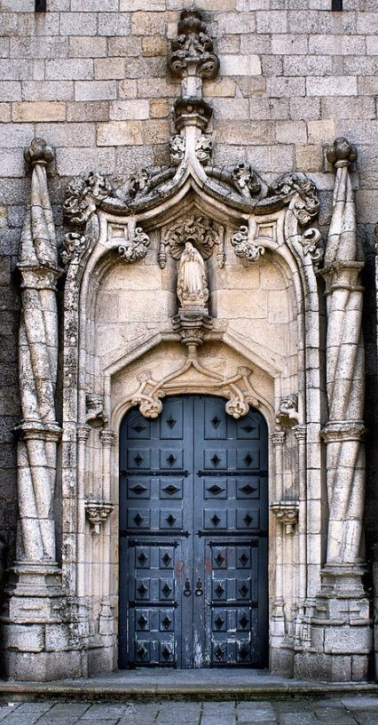Cathedral Door of Guarda ~ Guarda, Portugal